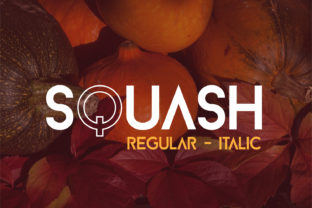 Squash Font By da_only_aan