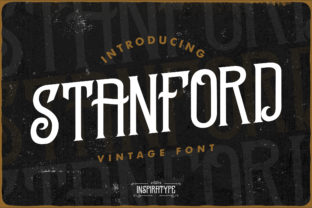 Stanford Font By InspiraType