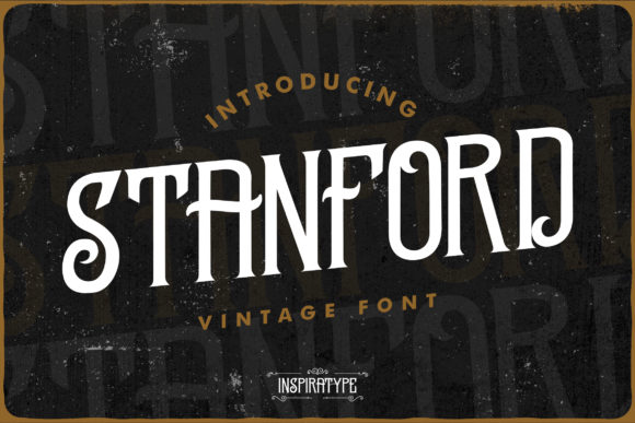 Stanford Serif Font By InspiraType
