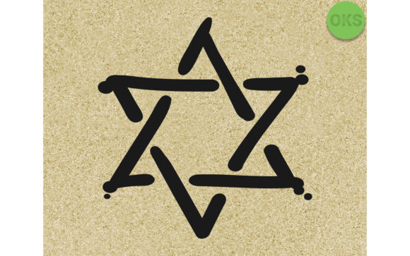 Print on Demand: Star of David Graphic Crafts By CrafterOks