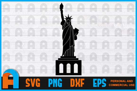 Download Free Statue Of Liberty Svg New York Svg Nyc Graphic By for Cricut Explore, Silhouette and other cutting machines.