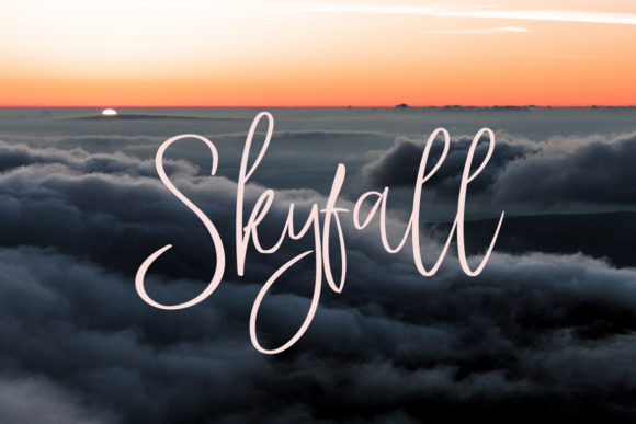 Stay High Font Item