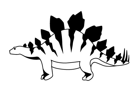 Stegosaurus Animals Craft Cut File By Creative Fabrica Crafts - Image 2