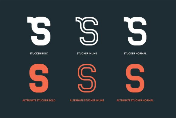 Stucker Font By InspiraType Image 4