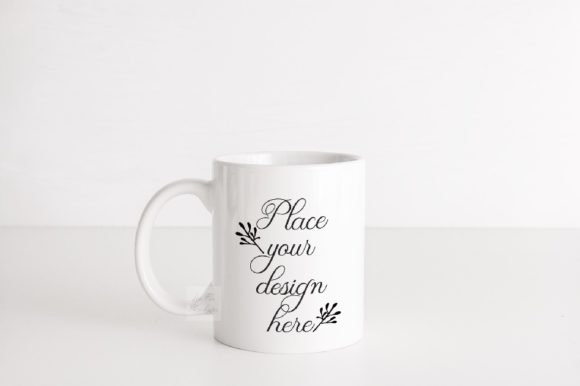 Sublimation White Coffee Mug Mock Up