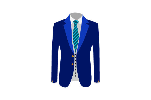 Download Free Suit Coat Front With Shirt And Tie Svg Cut File By Creative for Cricut Explore, Silhouette and other cutting machines.