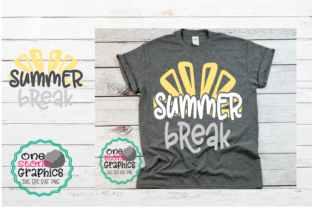 Download Free Summer Break Graphic By Onestonegraphics Creative Fabrica for Cricut Explore, Silhouette and other cutting machines.