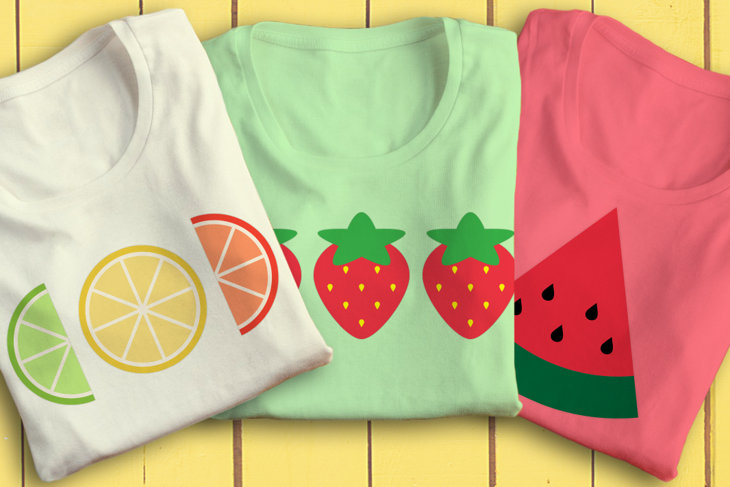 Download Free Summer Fruits Svg Graphic By Designedbygeeks Creative Fabrica for Cricut Explore, Silhouette and other cutting machines.