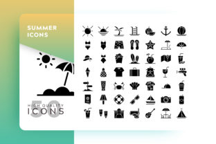 Summer Icon Graphic By Goodware.Std