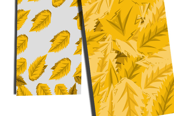 Summer Leaf Pattern Graphic Patterns By ahmaddesign99 - Image 2