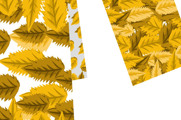 Summer Leaf Pattern Graphic Patterns By ahmaddesign99 - Image 3