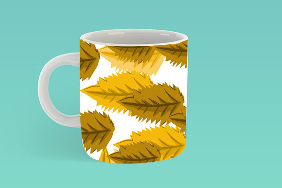 Summer Leaf Pattern Graphic Patterns By ahmaddesign99 - Image 4