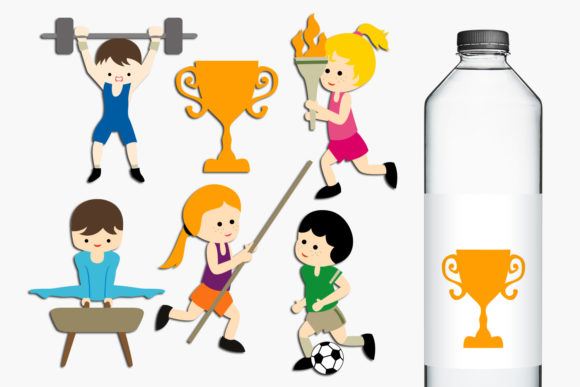 Print on Demand: Summer Sport Competition Graphic Illustrations By Revidevi