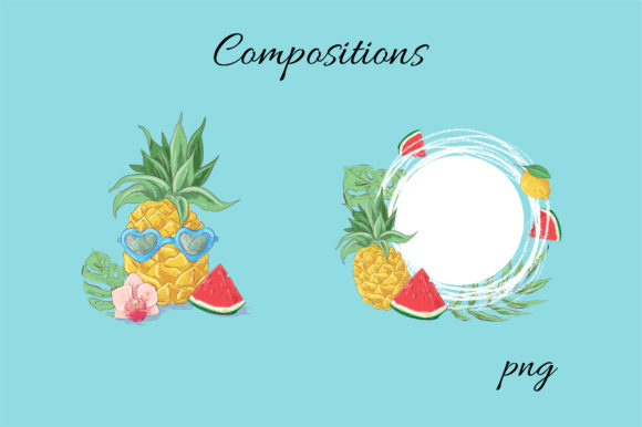 Summer Time Vector Clip Art Graphic By nicjulia Image 9