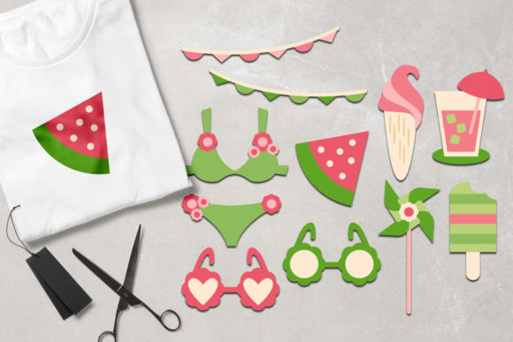 Print on Demand: Summer Graphic Illustrations By Revidevi