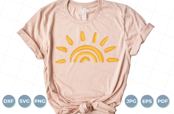 Download Free Sunset Sun Sunshine Graphic By Luxedesignartetsy Creative for Cricut Explore, Silhouette and other cutting machines.