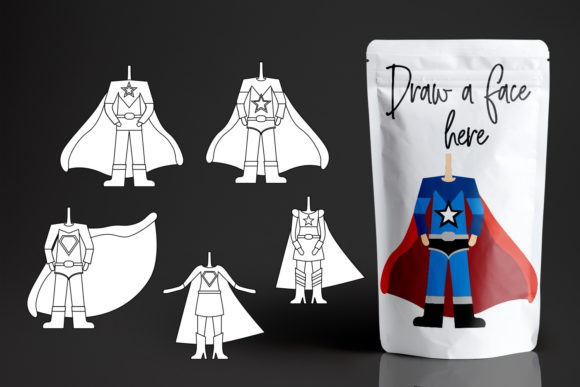Download Free Superhero Body Graphic By Revidevi Creative Fabrica for Cricut Explore, Silhouette and other cutting machines.