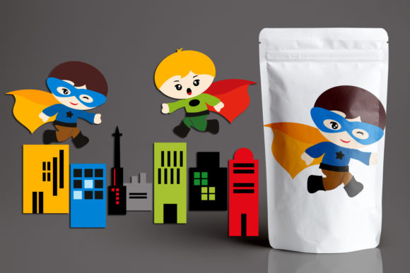 Download Free Superhero Boys And Building Graphic By Revidevi Creative Fabrica for Cricut Explore, Silhouette and other cutting machines.