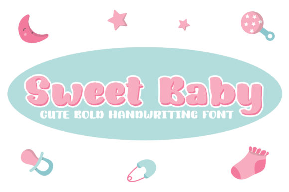 Print on Demand: Sweet Baby Script & Handwritten Font By Royaltype