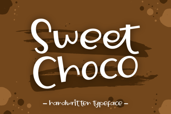 Print on Demand: Sweet Choco Script & Handwritten Font By Dani (7NTypes)