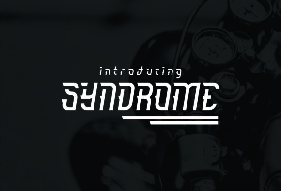 Syndrome Sans Serif Font By esto type