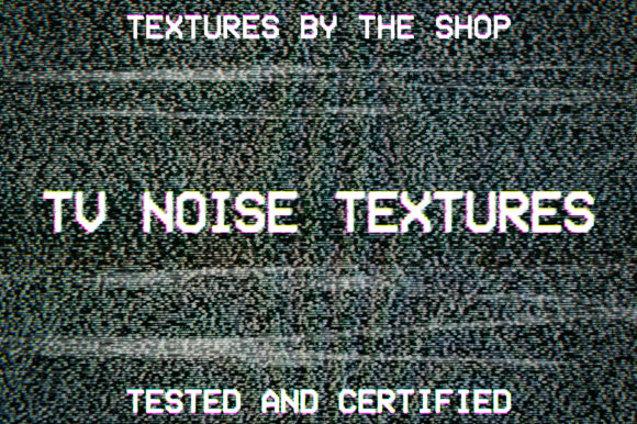 TV Noise Textures Graphic Textures By theshopdesignstudio