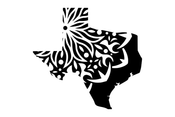 Download Free Tx State Mandala 3 Svg Png Eps Grafico Por Studio 26 Design Co for Cricut Explore, Silhouette and other cutting machines.