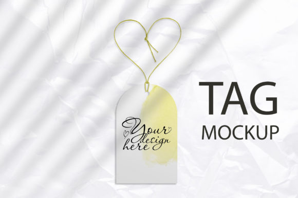 Tag Mockup, Clothing Tag