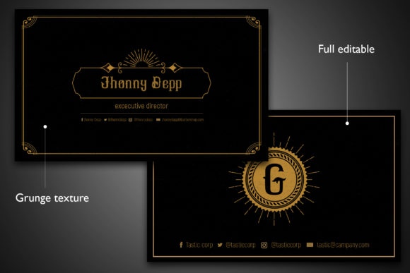 Tastic Business Card Templates Graphic Print Templates By Gumacreative