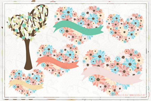 Tea Party Clipart and Vector Graphics Graphic By Michelle Alzola Image 3