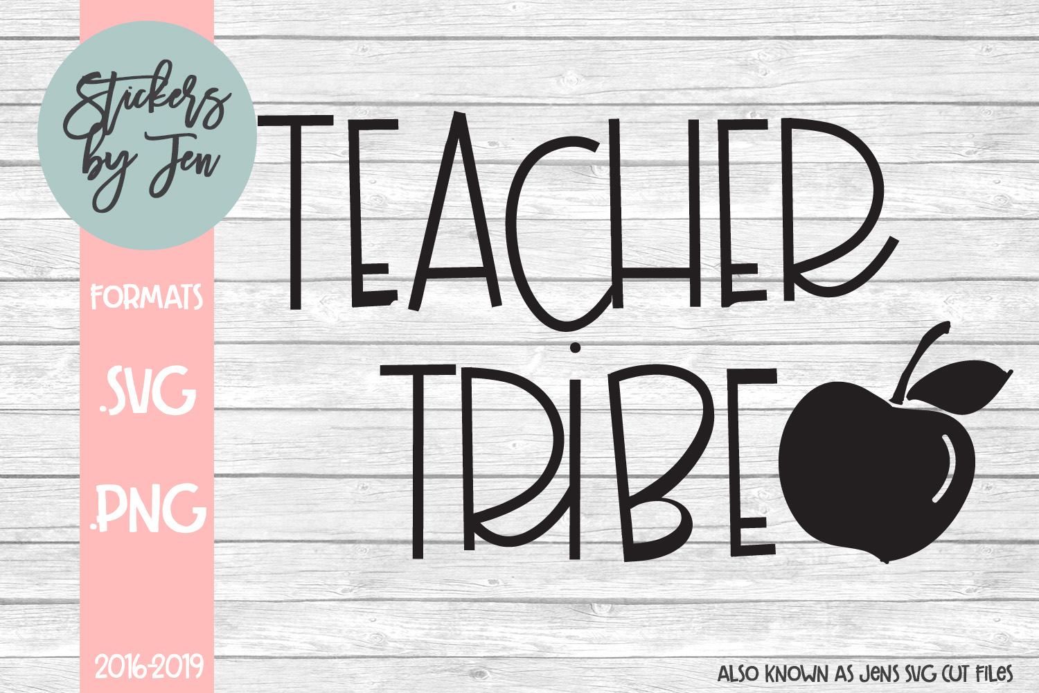 Download Free Teacher Tribe Svg Graphic By Stickers By Jennifer Creative Fabrica for Cricut Explore, Silhouette and other cutting machines.