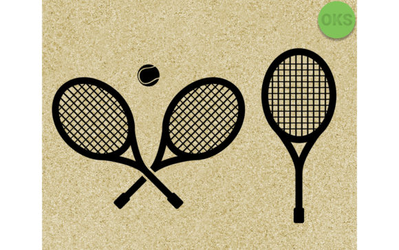Download Free Tennis Racket Ball Vector Svg Graphic By Crafteroks for Cricut Explore, Silhouette and other cutting machines.