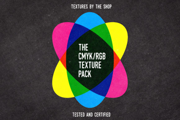 The CMYK/RGB Texture Pack Graphic Textures By theshopdesignstudio
