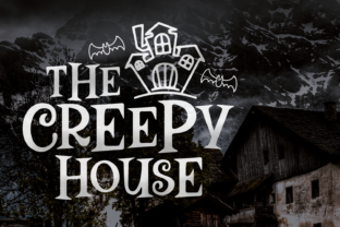 Print on Demand: The Creepy House Display Font By Keithzo (7NTypes)
