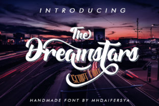 The Dreamstars Font By Muhammad Ersya