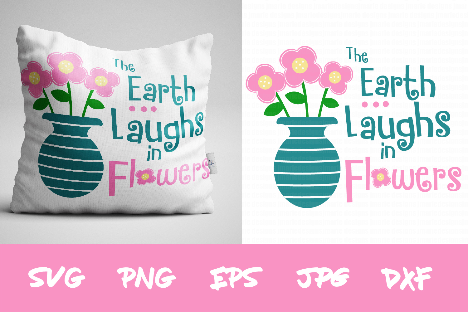 Download Free The Earth Laughs In Flowers Graphic By Thejaemarie Creative for Cricut Explore, Silhouette and other cutting machines.