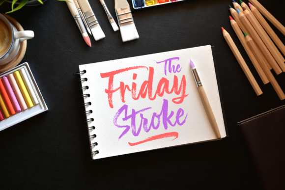 Print on Demand: The Friday Stroke Script & Handwritten Font By Situjuh