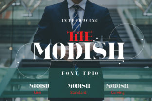 The Modish Font By jehansyah251
