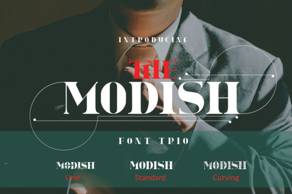 Print on Demand: The Modish Sans Serif Font By jehansyah251 - Image 5