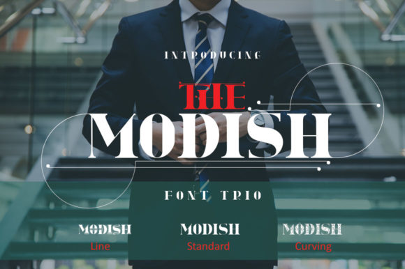 Print on Demand: The Modish Sans Serif Font By jehansyah251 - Image 1