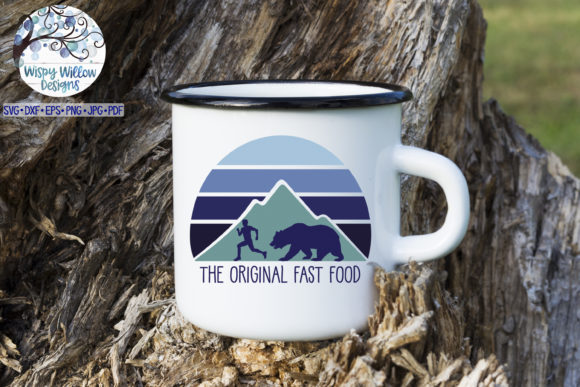 Download Free The Original Fast Food Funny Camping Svg Graphic By for Cricut Explore, Silhouette and other cutting machines.
