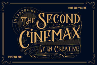 The Second Cinemax Font By lyanatha