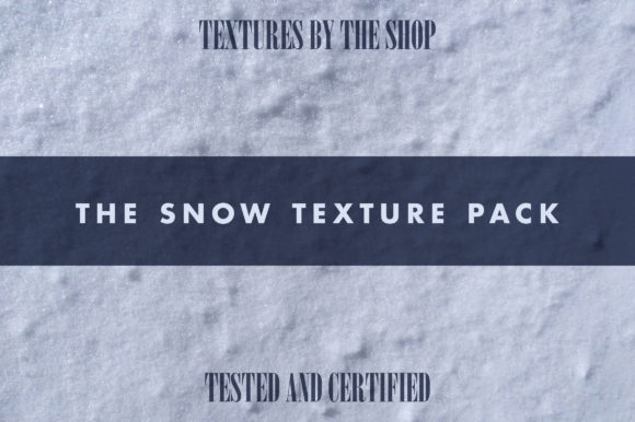 The Snow Texture Pack Graphic Textures By theshopdesignstudio