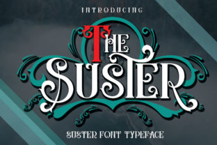 The Suster Font By jehansyah251