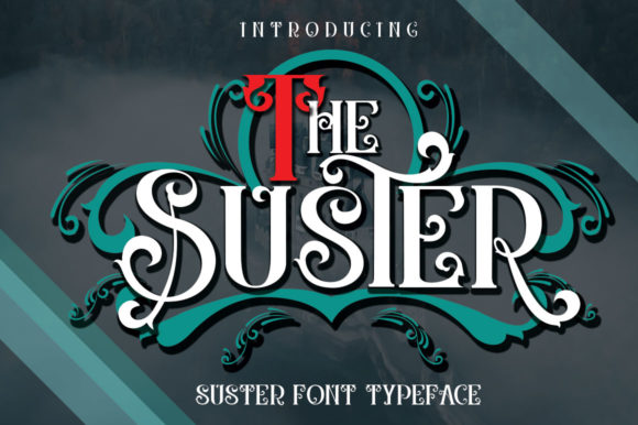 Print on Demand: The Suster Display Font By jehansyah251