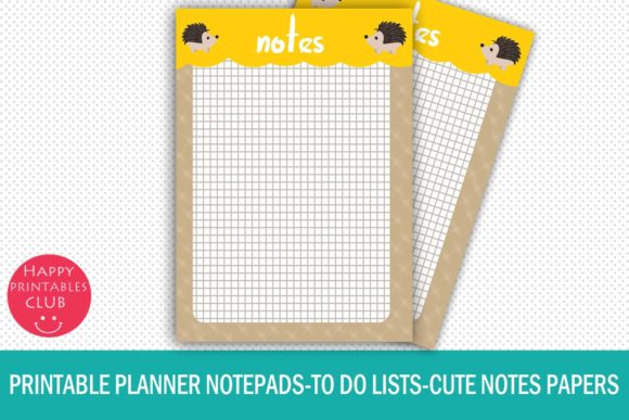 Print on Demand: Things to Do Printable Planner Pages Graphic Illustrations By Happy Printables Club