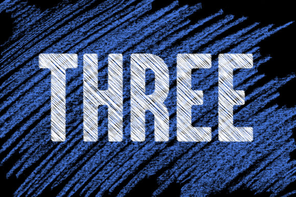 Threemore Font By da_only_aan Image 1