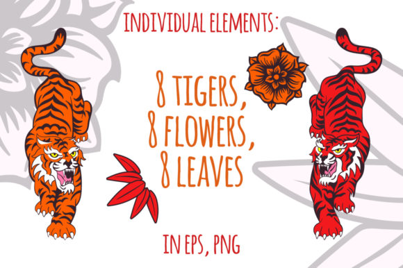 Tigers Graphic By annamagenta Image 2