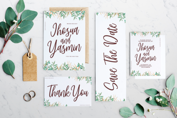 Print on Demand: Today Momentum Script & Handwritten Font By Situjuh - Image 2