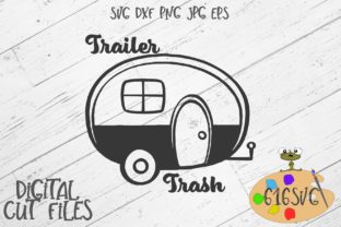 Download Free Trailer Trash Graphic By 616svg Creative Fabrica for Cricut Explore, Silhouette and other cutting machines.
